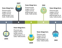 Free Apple Keynote Template - Timeline