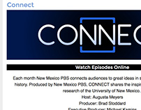 Connect Website Redesign