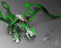 Dragon Toy Design
