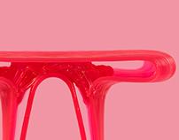 Percy Stools - Algorithmic Furniture