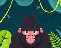 King Kong eBooks Illustrations