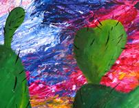 CACTUS (acrylic paint)