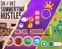 [UI / UX] Summertime Hustles