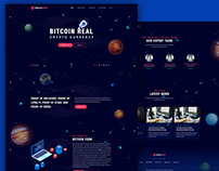 Crypto currency Website Design
