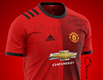 Manchester United home kit 2021