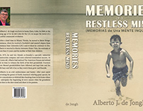 Memories of a Restless Mind Wrap Around Book Cover