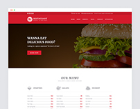 Restaurant Responsive Website Templates Free Download