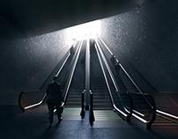 Oslo Metro Station