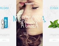 Melisana website