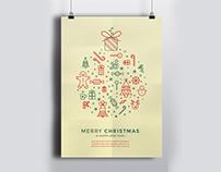 Cool Icon Christmas Flyer