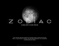 ZODIAC   line-art icon pack