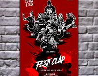 Cartel para concierto de rap! Hip hop poster.