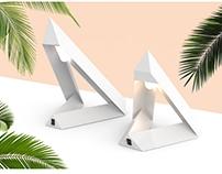 """""""Pyramid"""" Table lamp sets"""