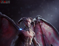 concept creature  done for the awesome CGSociety Luca