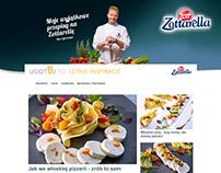 Zottarella page layout