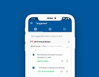 A.I. powered to-do list app