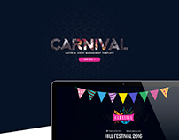 Carnival Event Management Template