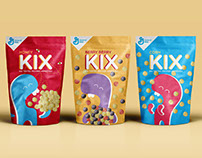 Kix Cereal to-go Concept Packaging