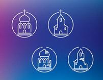 Churches icons