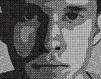Typographic Portraits (College Work)