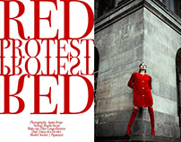 RED PROTEST