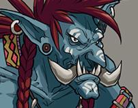 Troll Design - Blizzard Fanart