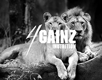 4Gainz Nutrition Packaging and Branding