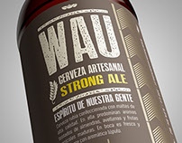 WAU · Beer · Label Design · Chile