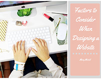 Designing a Website By Mary Mickel