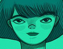Blue Ilustration