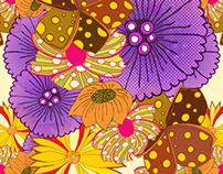 Floral colour study