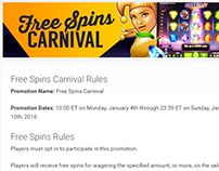Free Spins Carnival