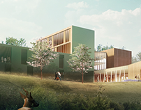 School created for Oekoumene Architects