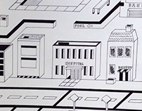Earthbound's Threed City - Isometric Perspective
