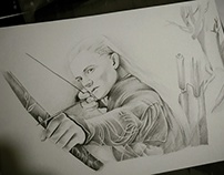 "Legolas - ""He stands not alone"""