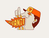 Tijuana Delivery - Branding ilustrado