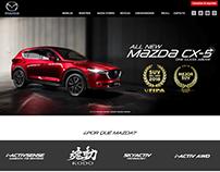 Mazda - Desarrollo web