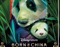 DisneyNature- Born In China- Official Vector Commission
