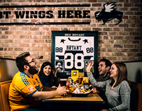 BUFFALO WILD WINGS & SOYFAN.