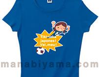 Soccer T-Shirts サッカー応援Tシャツ