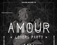 Amour - Modern Party Flyer
