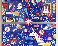 Big Bang - Art Piece for Artotel