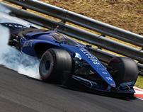 Bugatti 101P - F1 2020 Concept - The Story