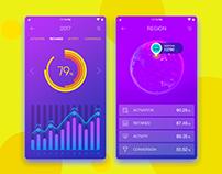 Data Visualization UI Design