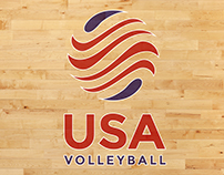 USA Volleyball Concept