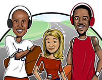 Uninterrupted's 'Road Trippin' Podcast Logo/Graphic