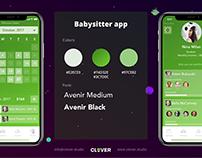 Babysitter app