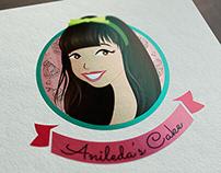 🇽🇰 Anileda's Cake - Brand Identity