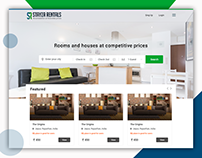 Webpage Design For - rental site apartments & houses