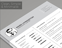 Corporate Lawyer CV Resume Template